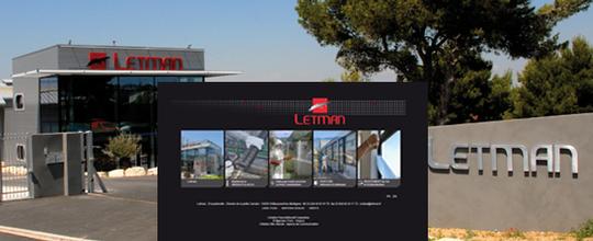 Mise en ligne du site Letman