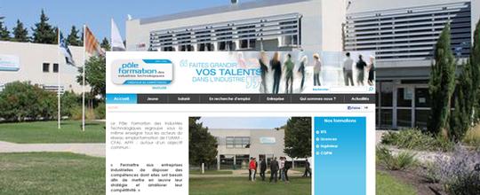 Mise en ligne du site du CFAI & l'AFPI de Vaucluse