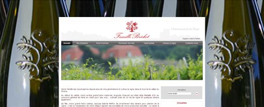 Mise en ligne du site de la Famille Brechet