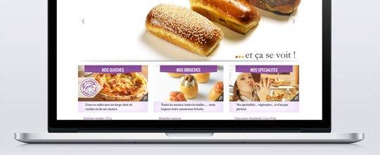 Nouveau logo & nouveau site pour La Savoureuse