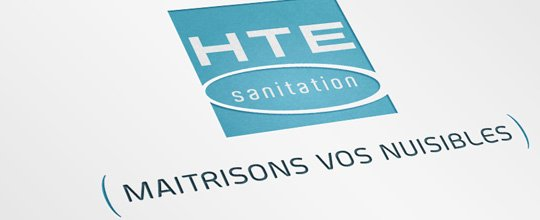 HTE SANITATION / Création Plaquette